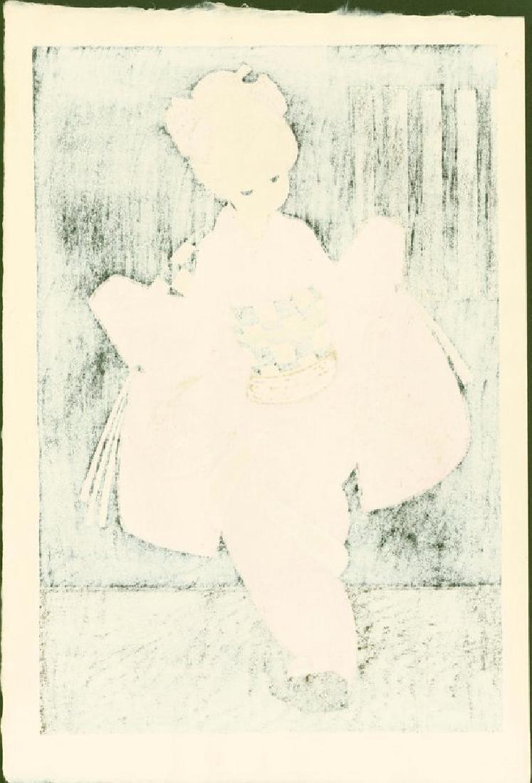 Kaoru Kawano: Dancing Figure (Kamuro) - 4
