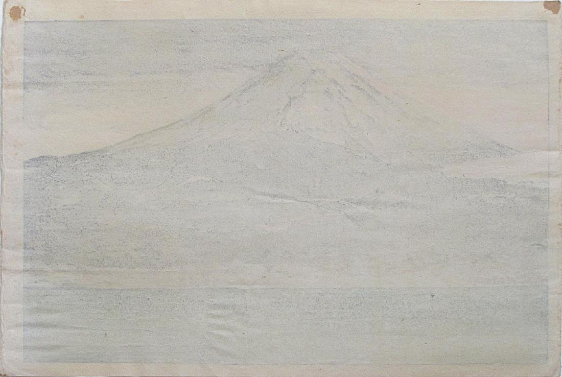 Koitsu Tsuchiya: Morning Fuji, Lake Kawaguchi - 2