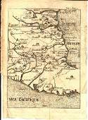 Map of Mexico South of the Tropic of Cancer, 1730