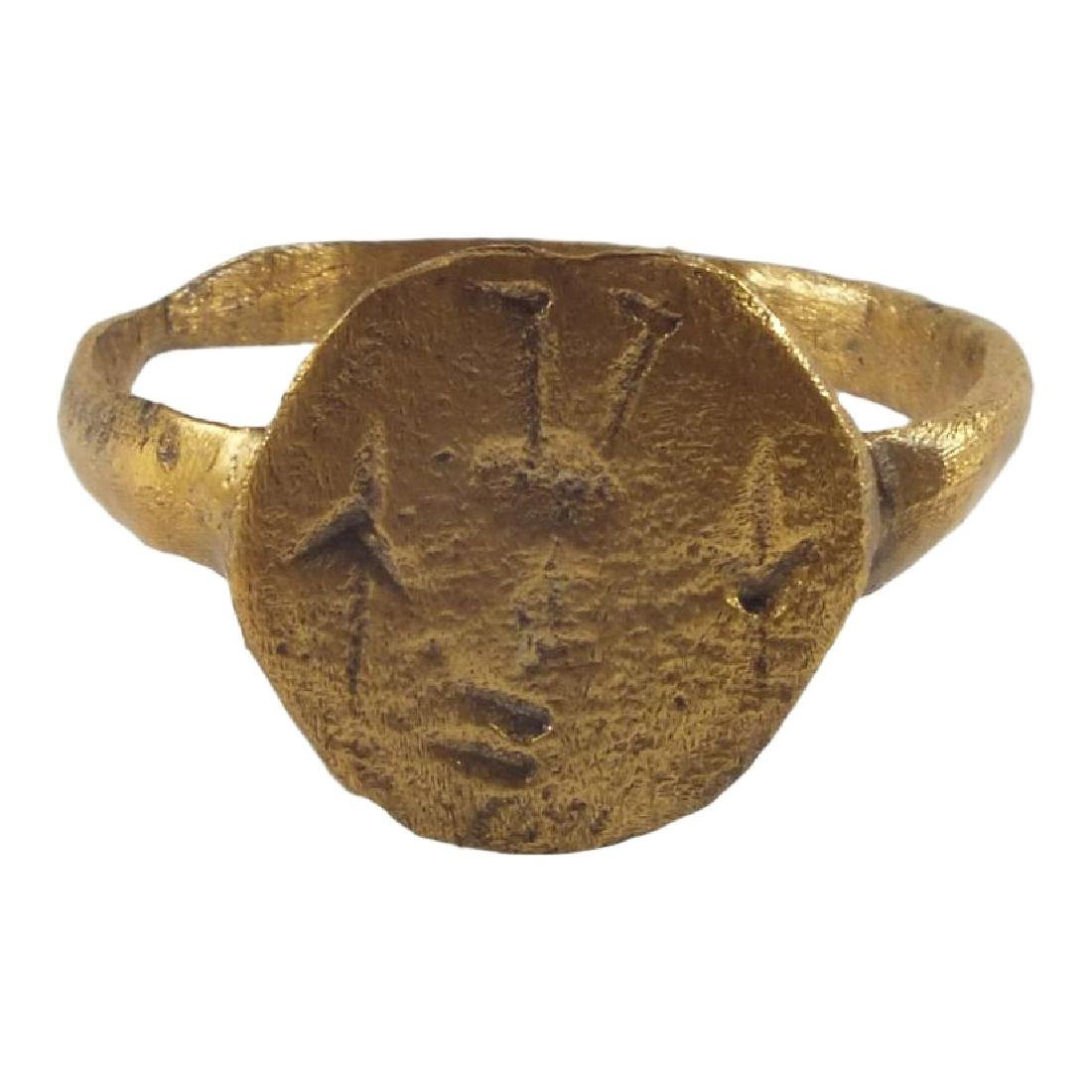 Rare Viking Signet Ring 900 AD