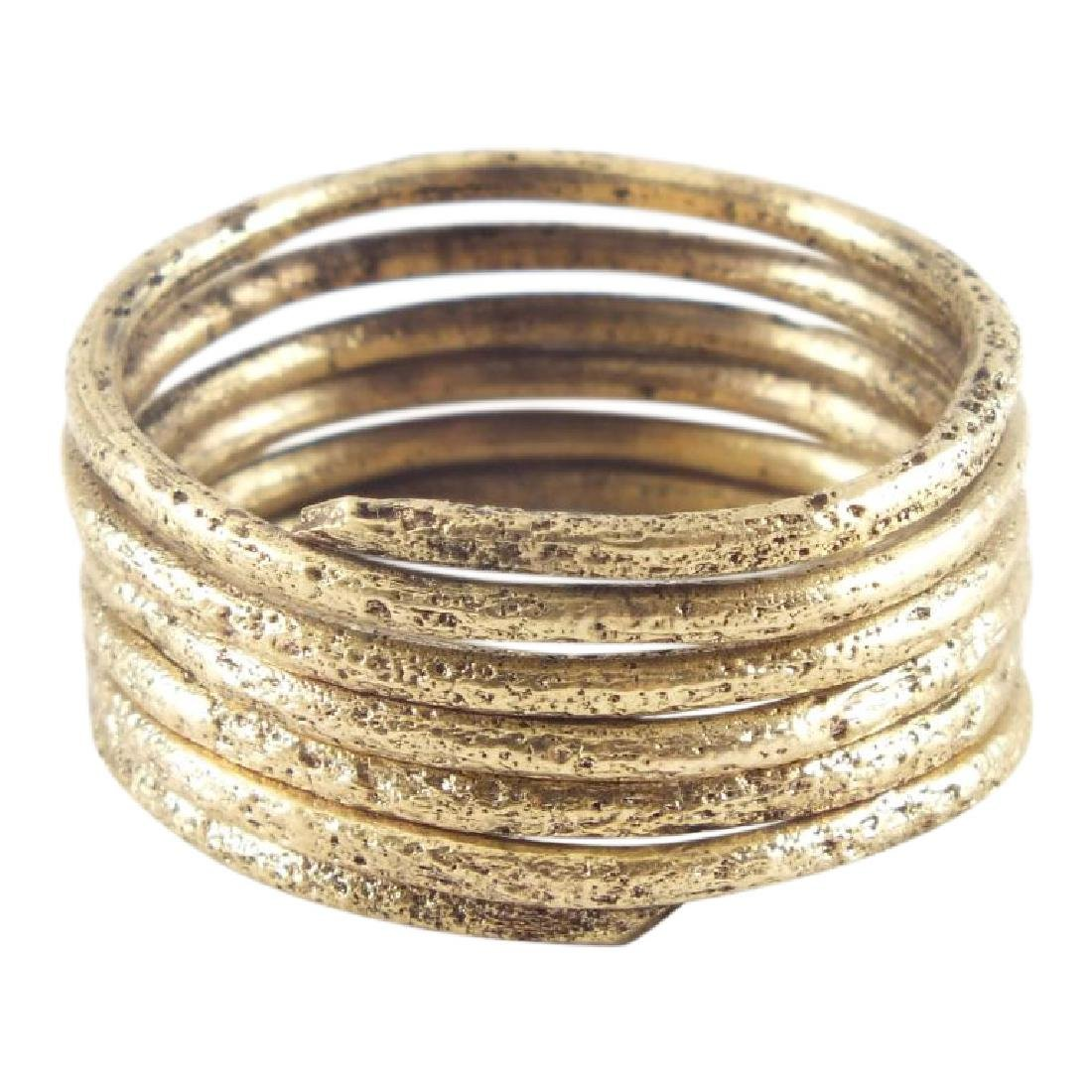 Viking Warrior's Coil Ring 10th Century AD