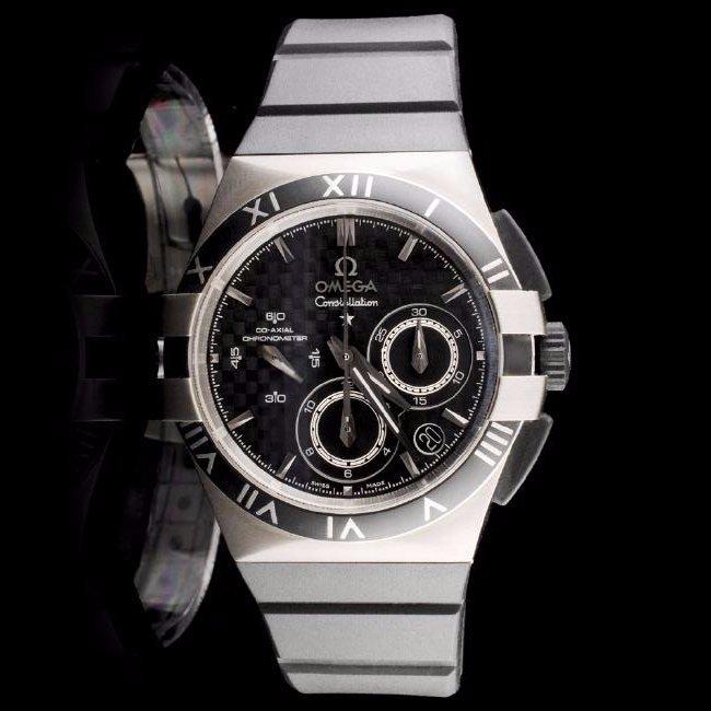 Omega Constellation Mission Hills Chronograph Watch