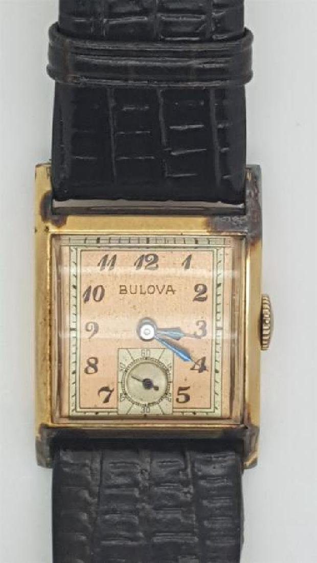 Vintage Bulova 10K Gold Filled Apex Men's Watch