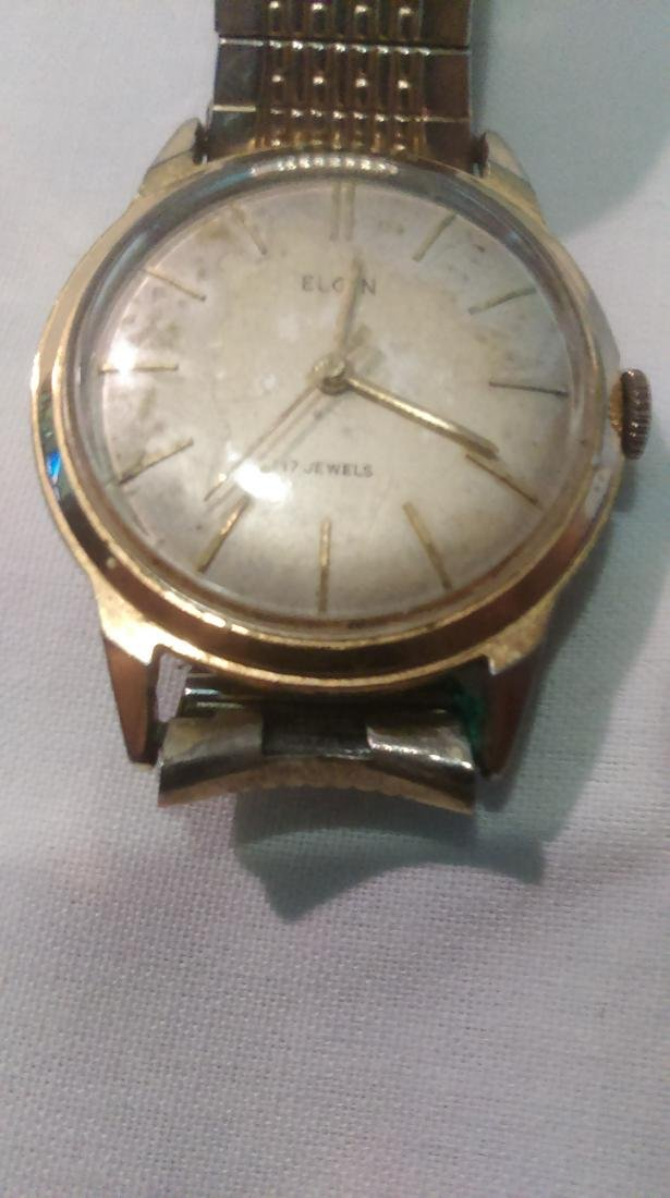 Elgin Stainless Steel 17 Jewel Watch