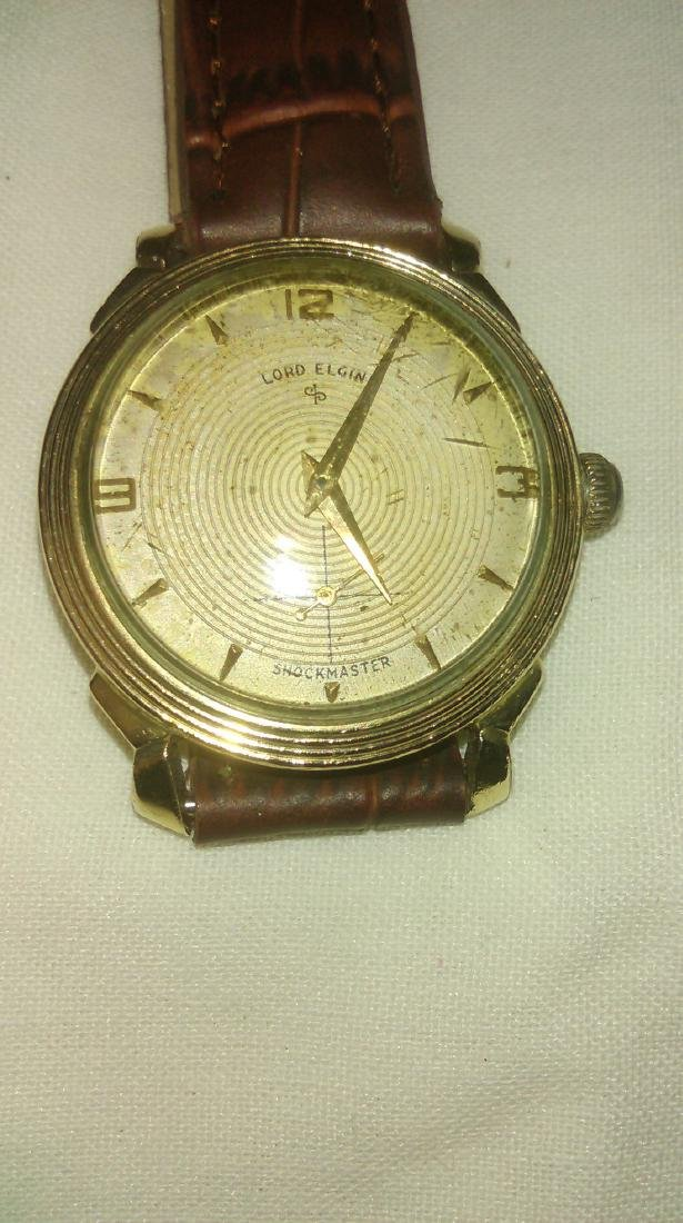 Lord Elgin 14K Gold Filled Watch