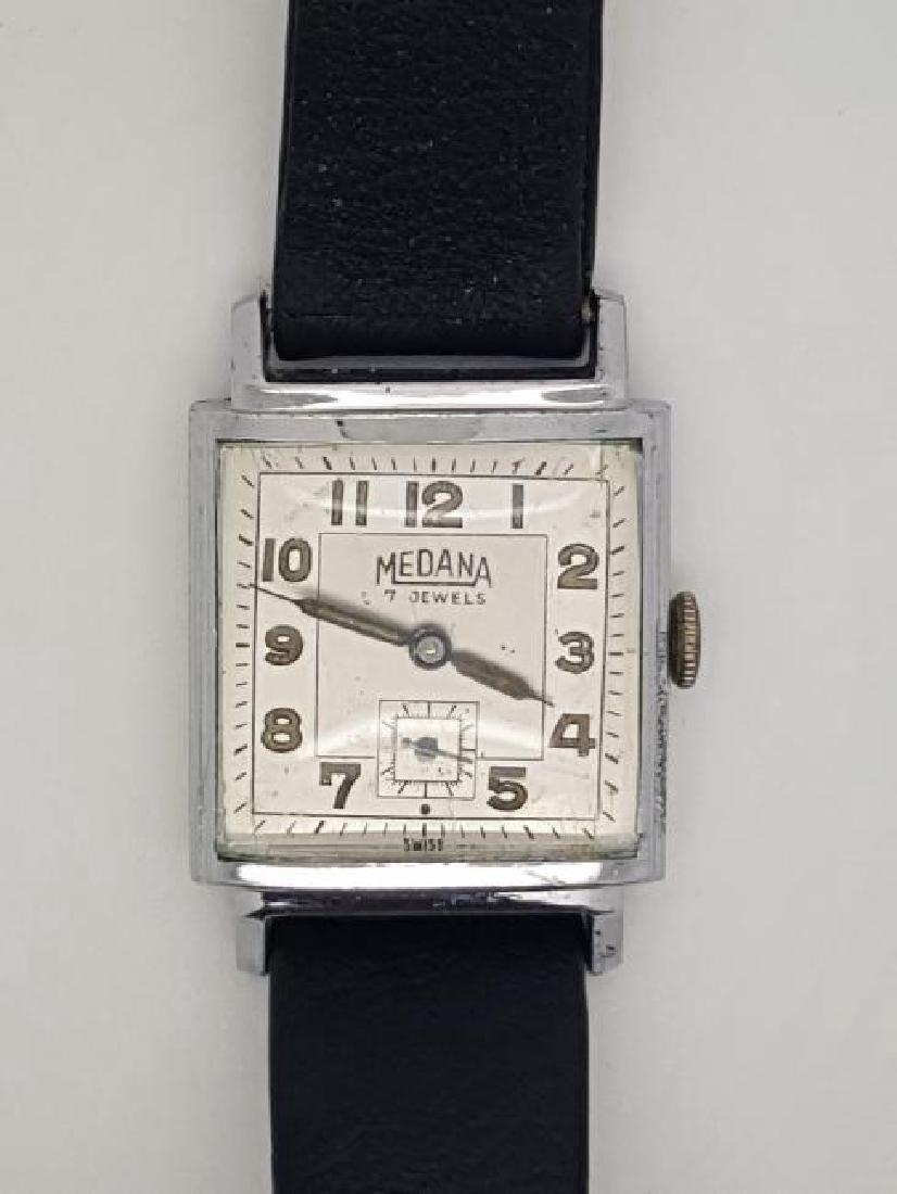 Vintage Medana Art Deco Men's Watch