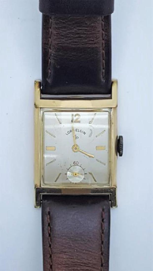 Vintage Lord Elgin 14K Gold Filled Men's Watch