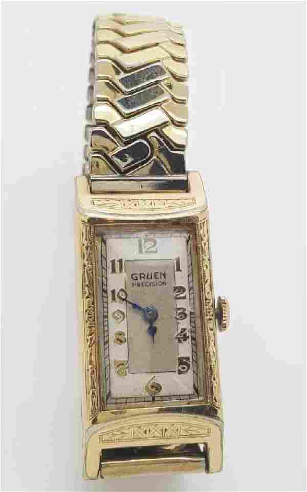 Vintage Gruen Precision 10K Gold Filled Manual Watch