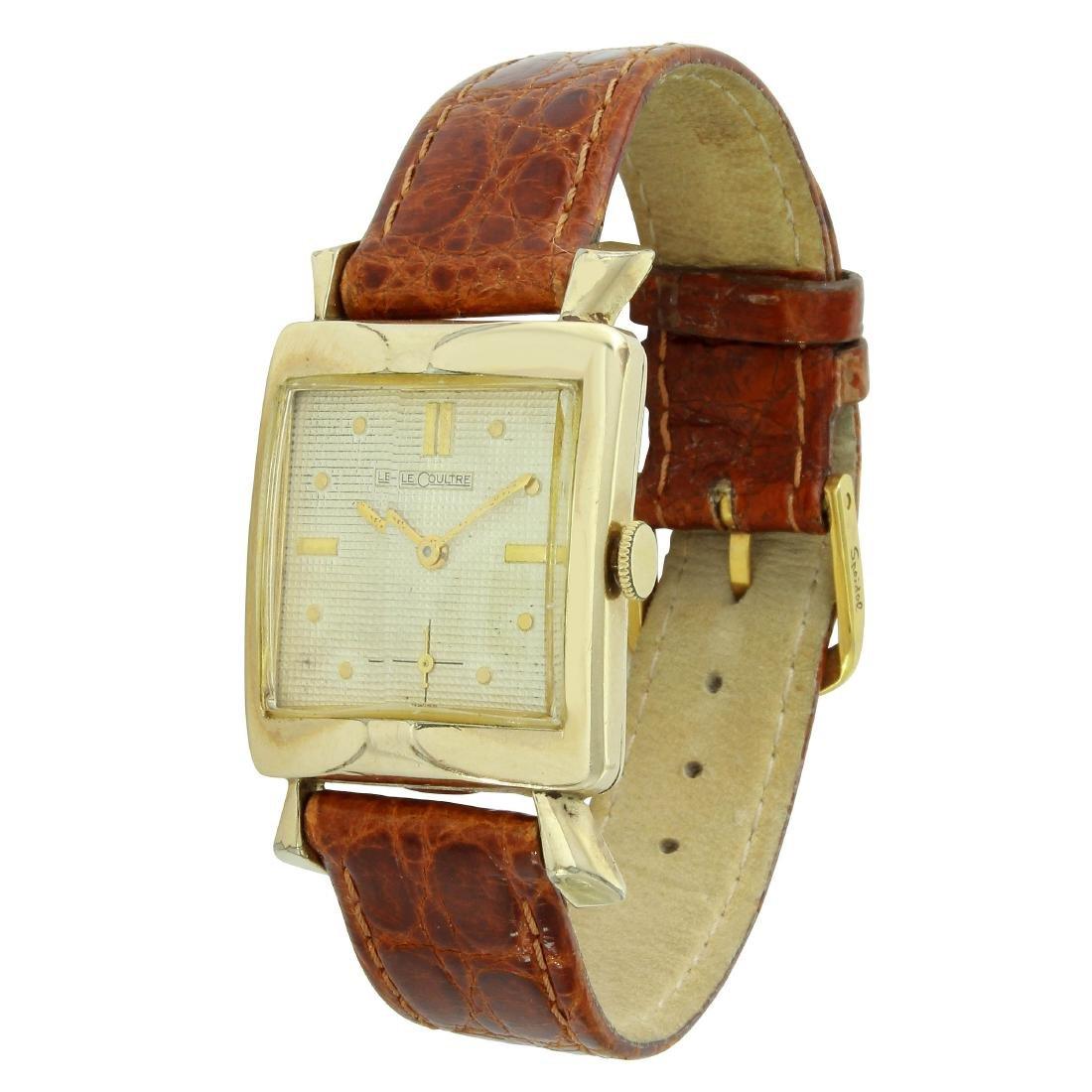 Vintage LeCoultre Art Deco Watch, 1940s