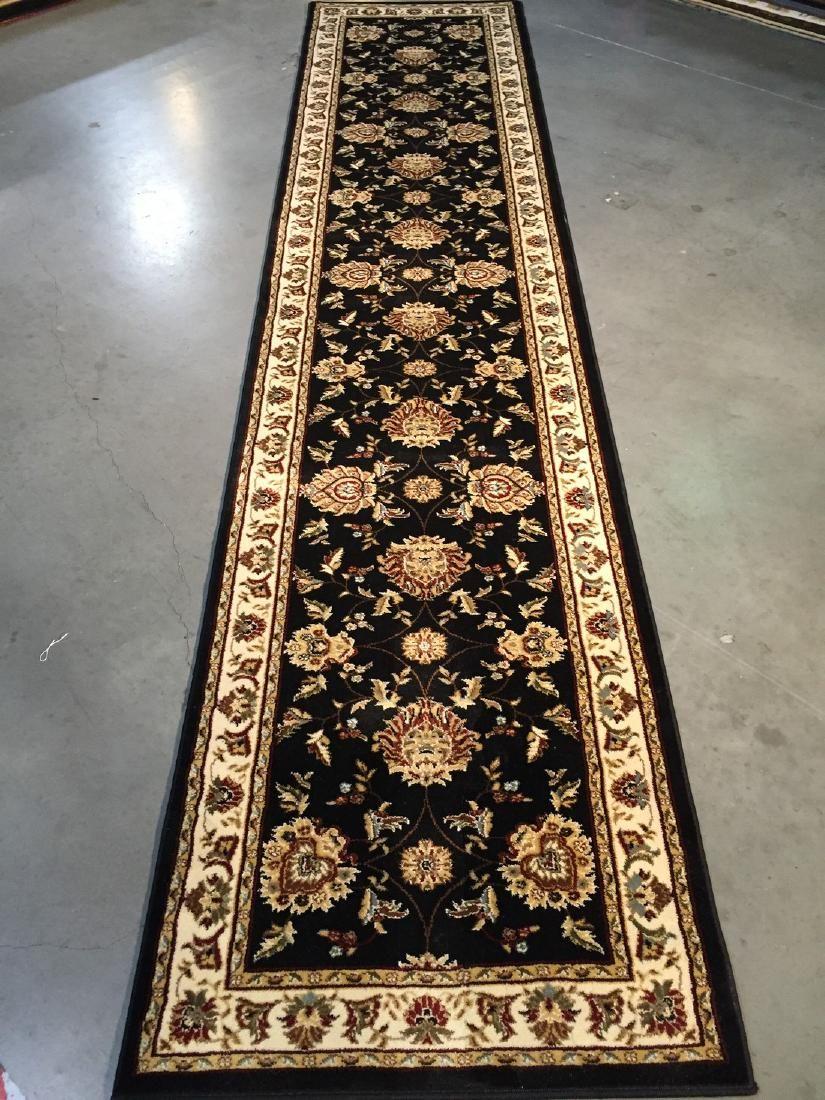 Persian Mahal Allover Design Runner Rug 3x12