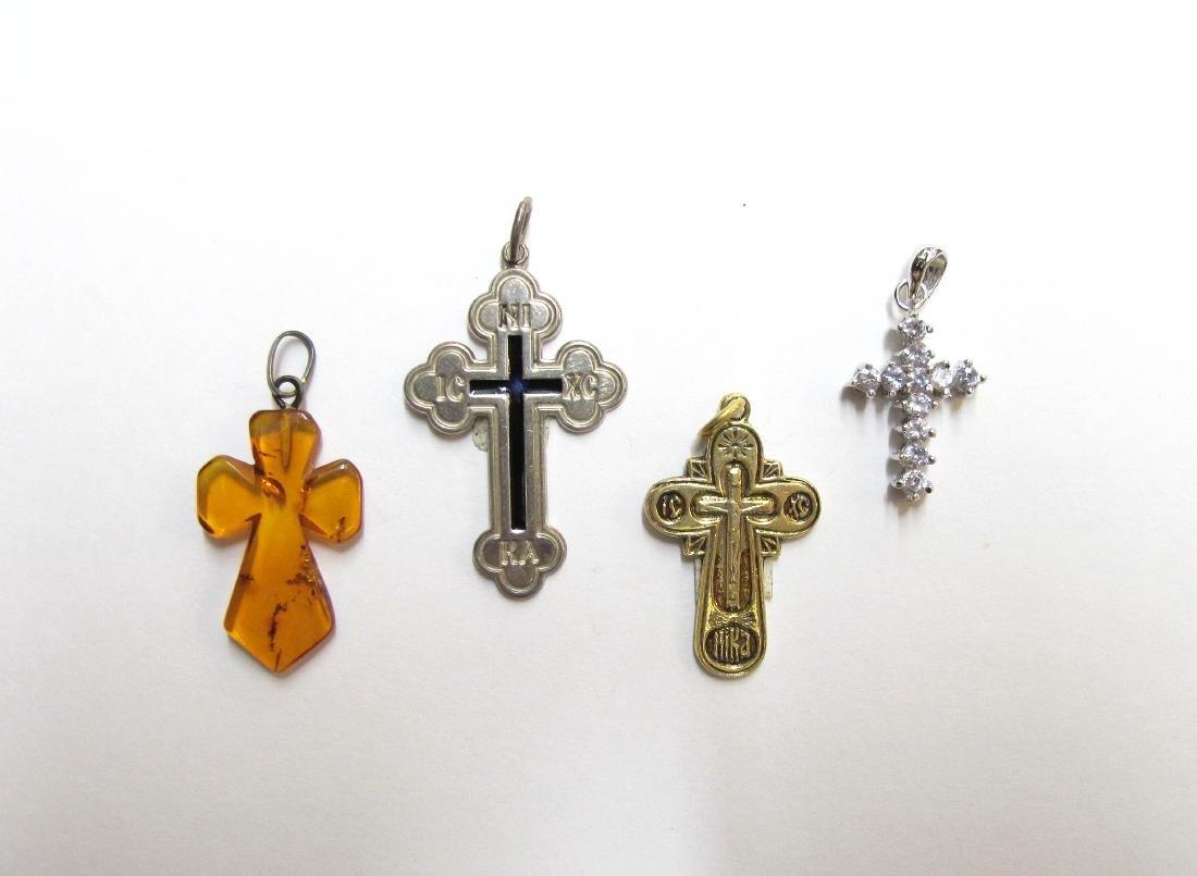 Lot of Four Crosses