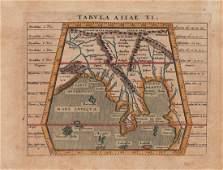 Jan Jansson: Map of Malay Peninsula, 1617