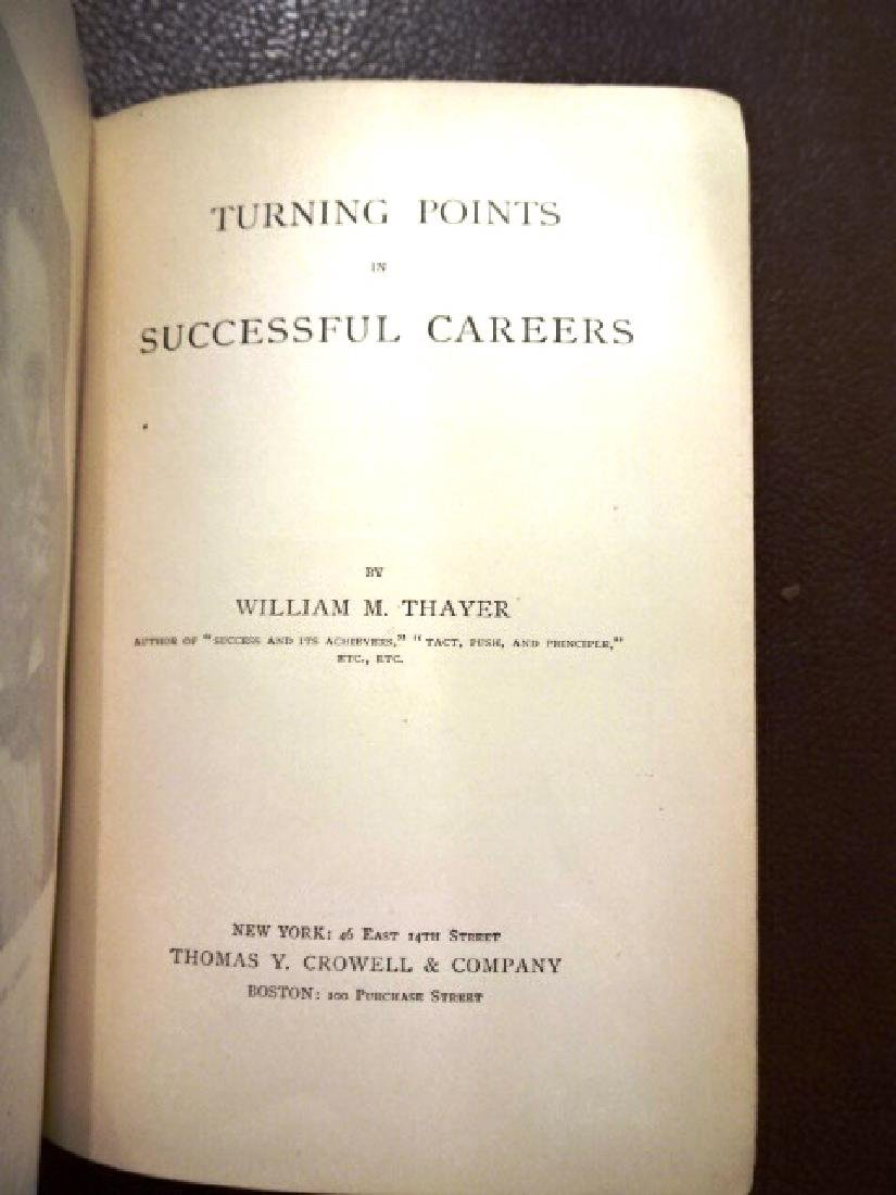 Turning Points in Successful Careers, 1895