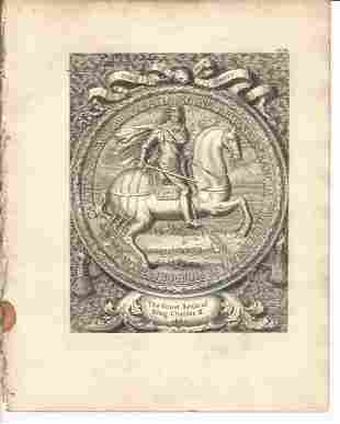 Vertue: The Great Seal of King Charles II, 1753