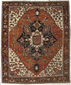 Persian Serapi Rug 11x13.3