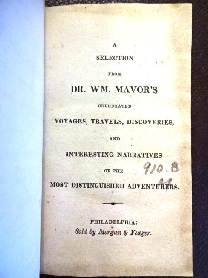 Mavor's Voyages, Africa East India, 1817