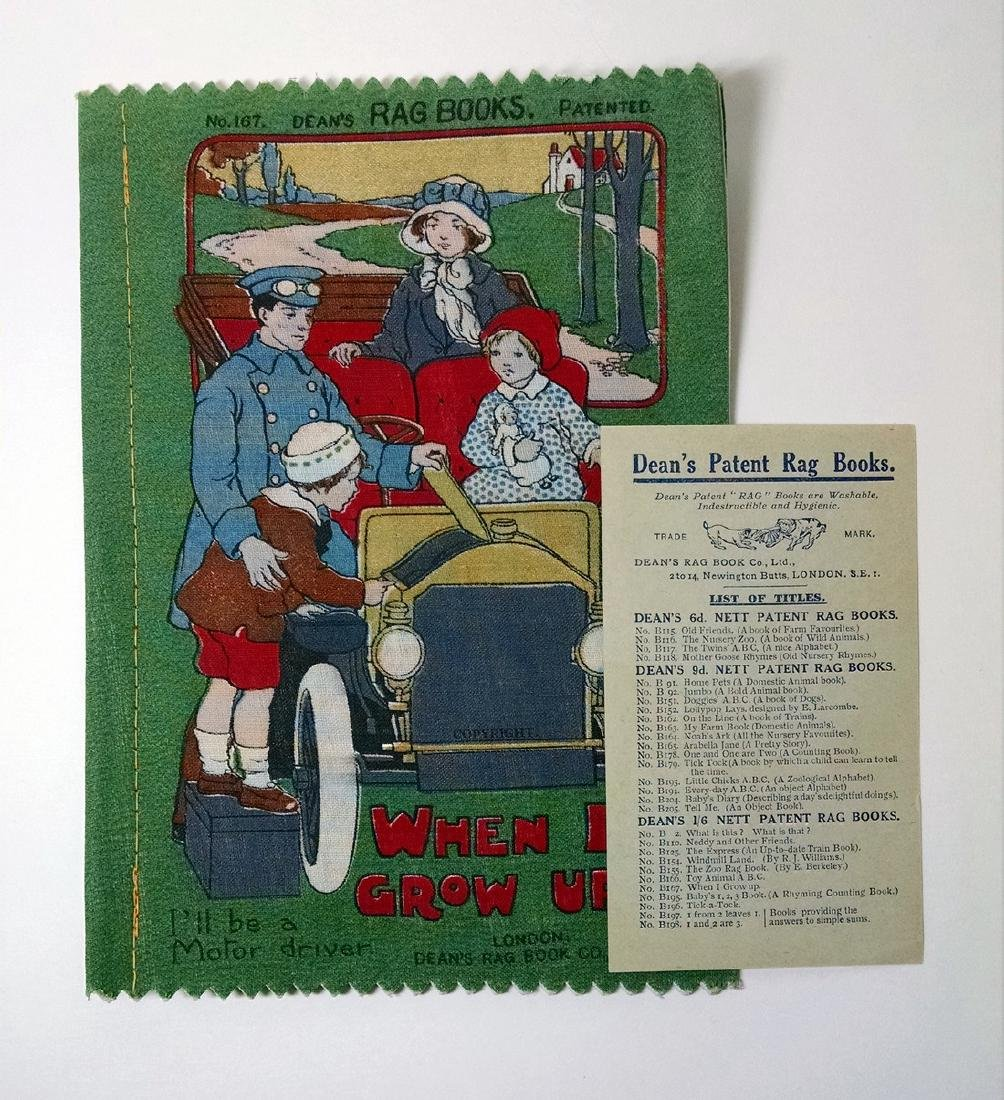 When I Grow Up, Dean's Rag Book #167, 1915