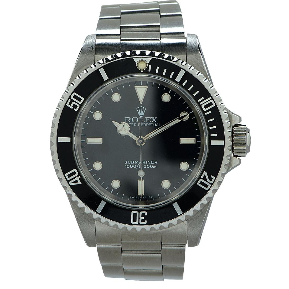 Rolex Perpetual Submariner Stainless Steel Watch