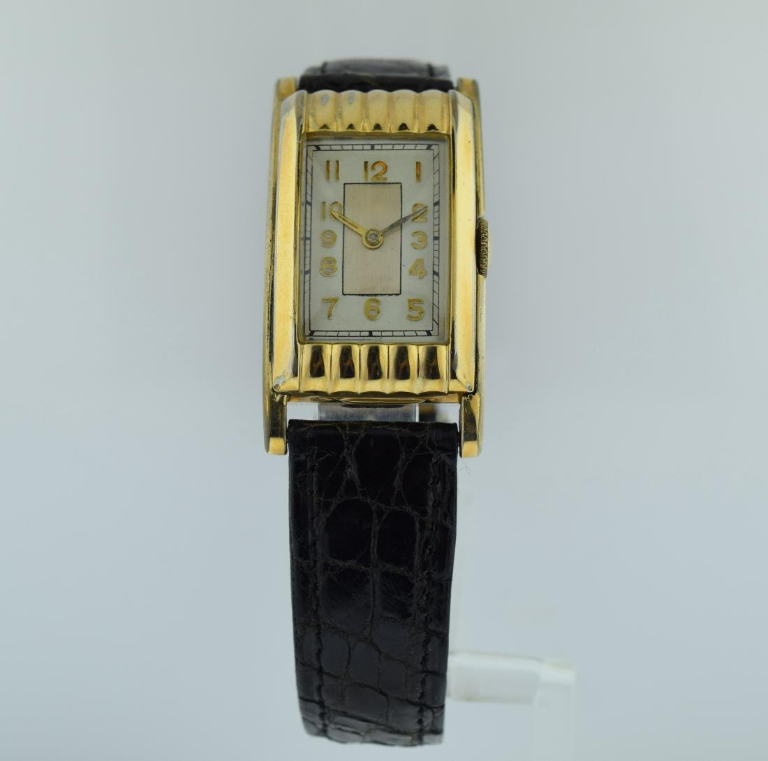 Walker Watch Corp Gold Filled Wedge Watch, 1930