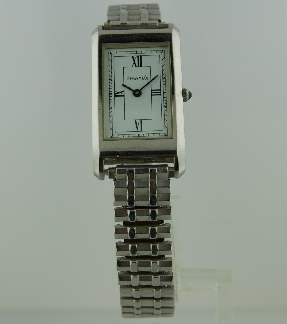 Tiffany & Co. Stainless Steel Watch, 1990s