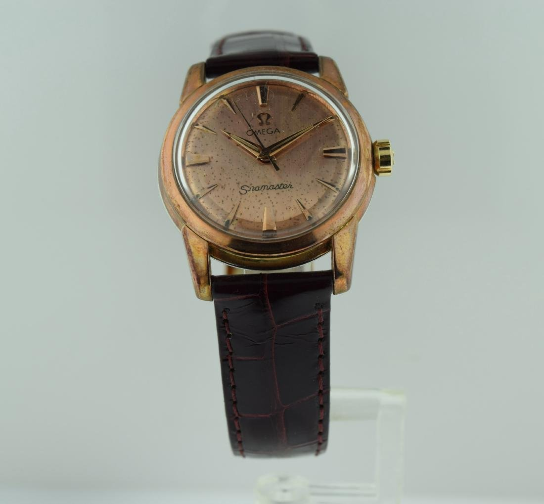 Omega Seamaster Pink Gold Filled Watch, 1960s