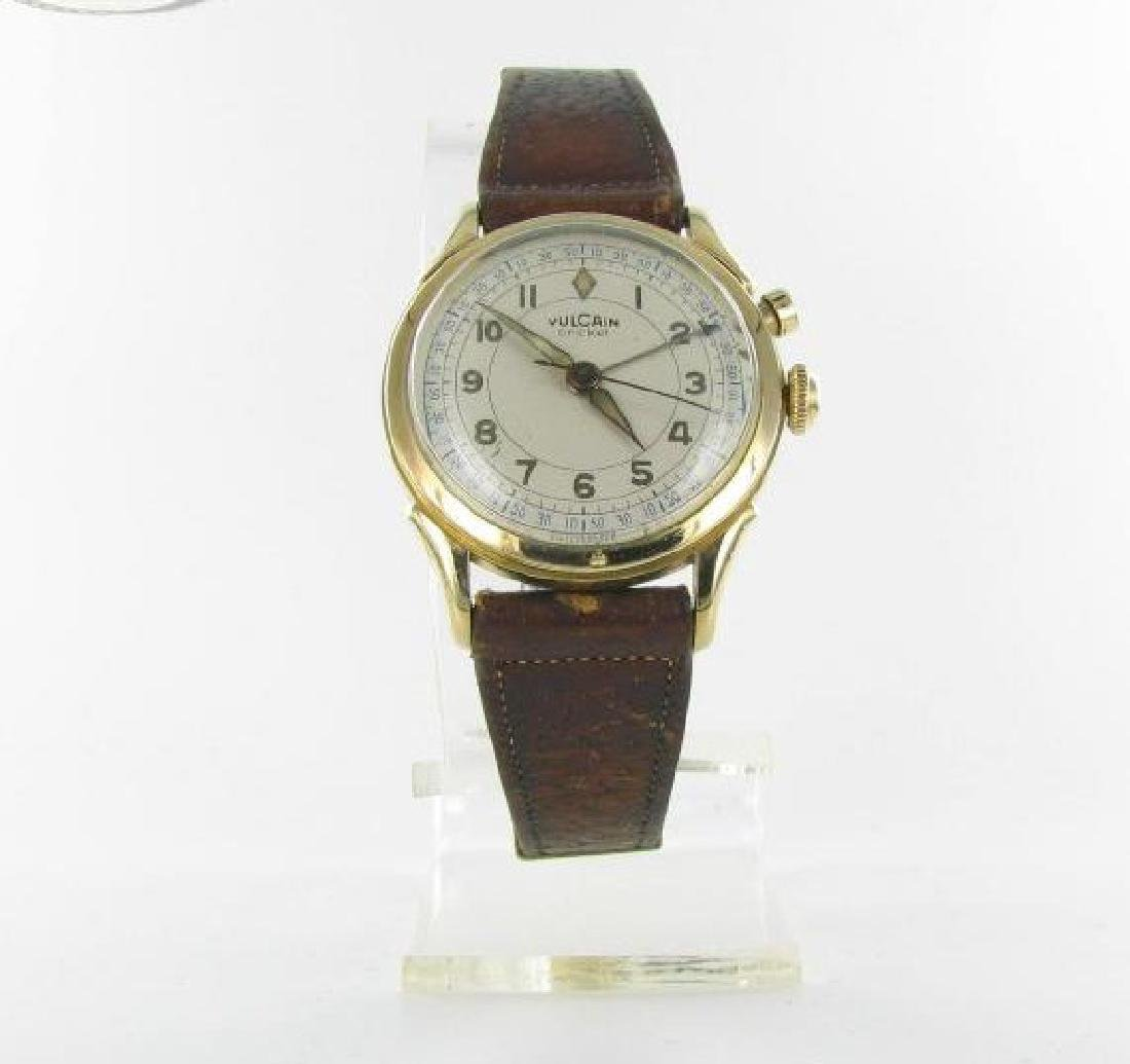 Vintage Vulcain Cricket Gold Filled Wristwatch