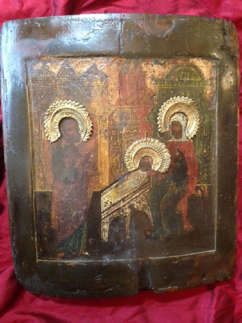 Nativity of St. John Icon, 1680