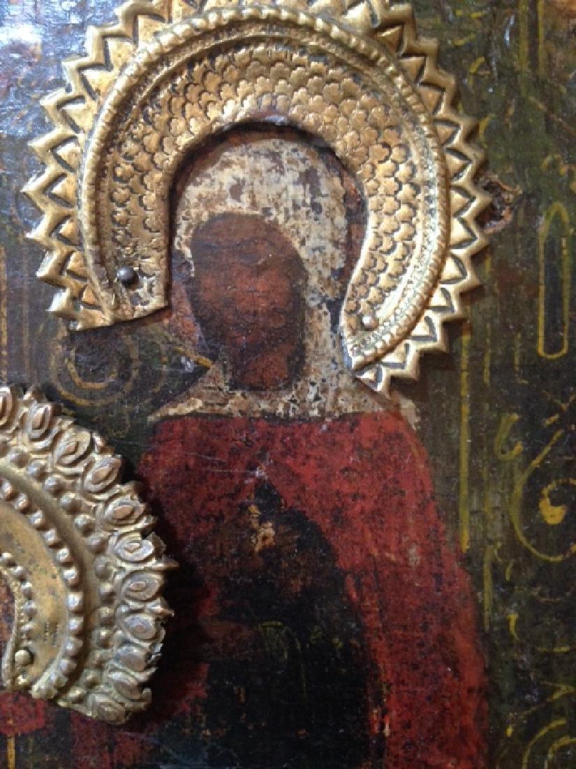 Nativity of St. John Icon, 1680 - 3