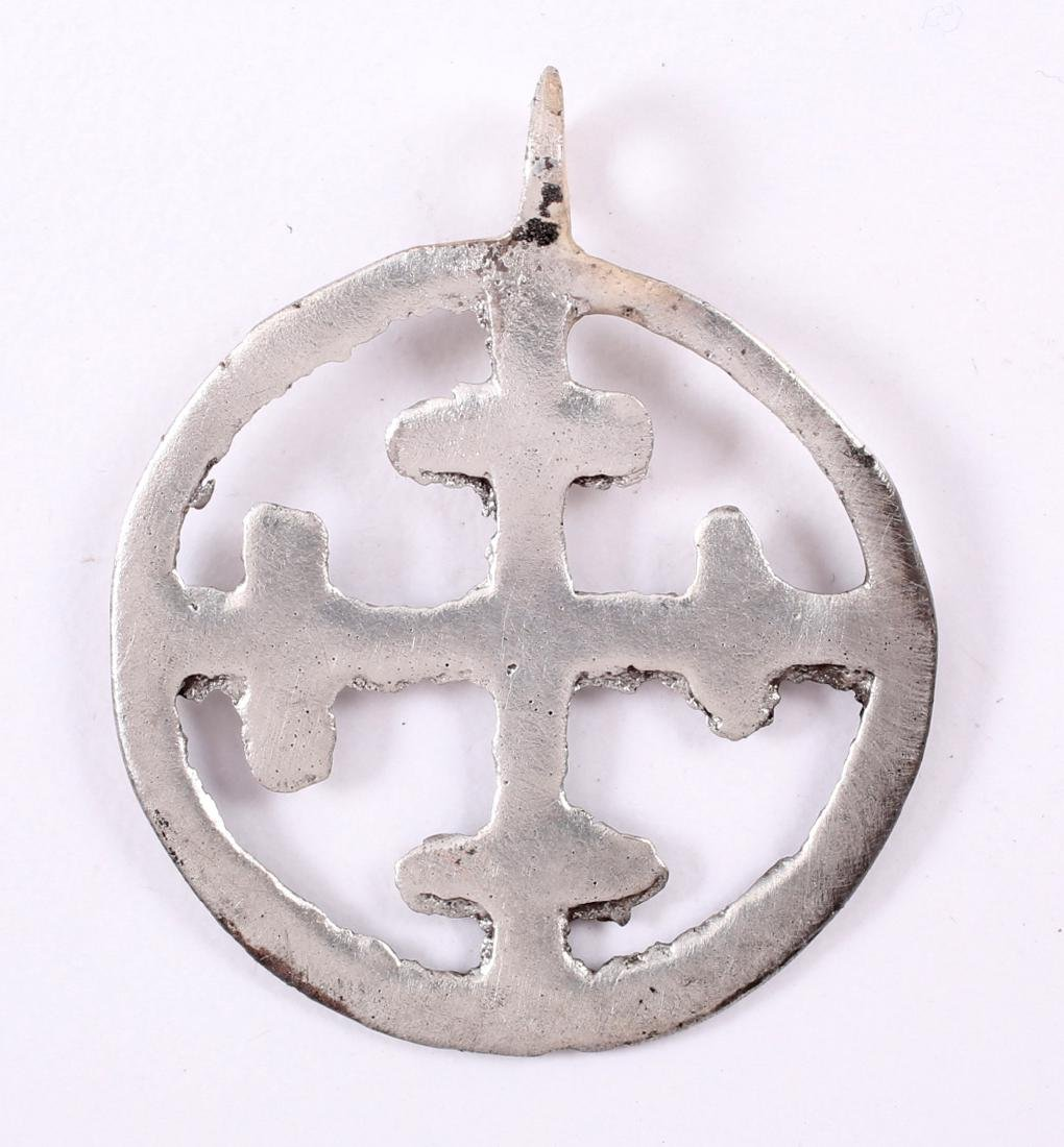 Crusader's Cross Pendant, 11th-13th Century - 2