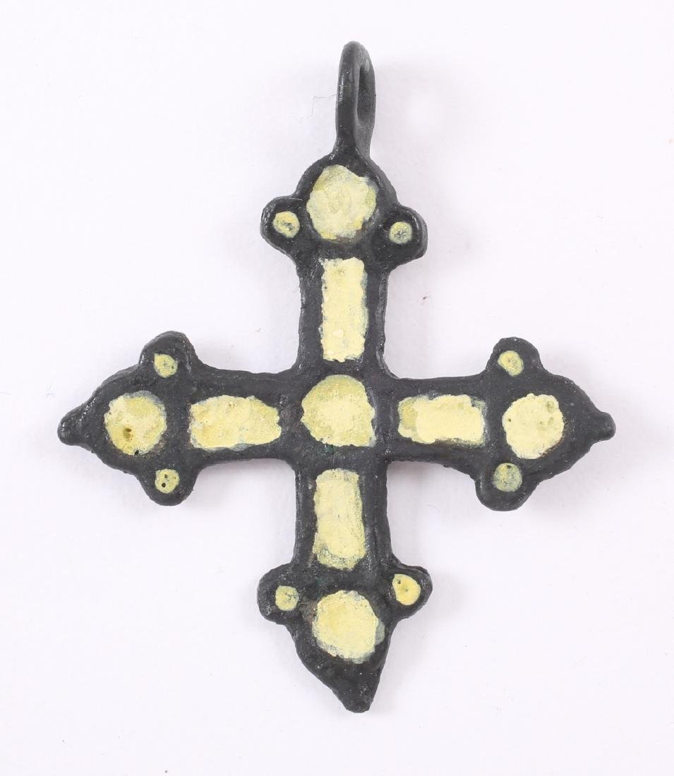 Medieval Spanish Cross, 1450-1650 - 2