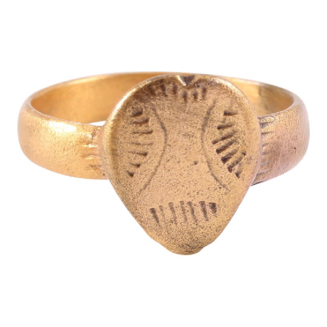 Viking Warrior's Heart Ring, 850-1000