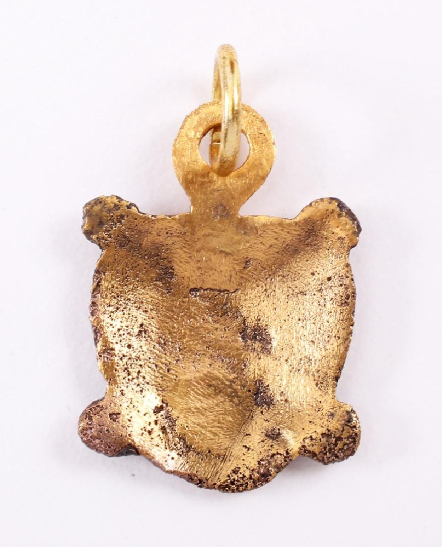 Viking Heart Pendant, 850-950 - 2