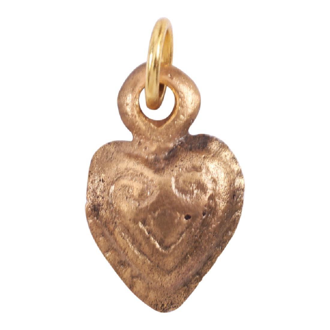 Viking Heart Pendant, 850-1050