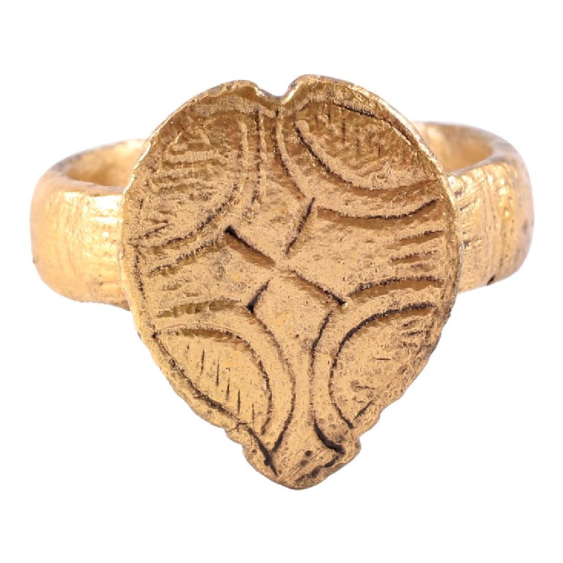 Viking Warrior's Heart Ring, 850-1000