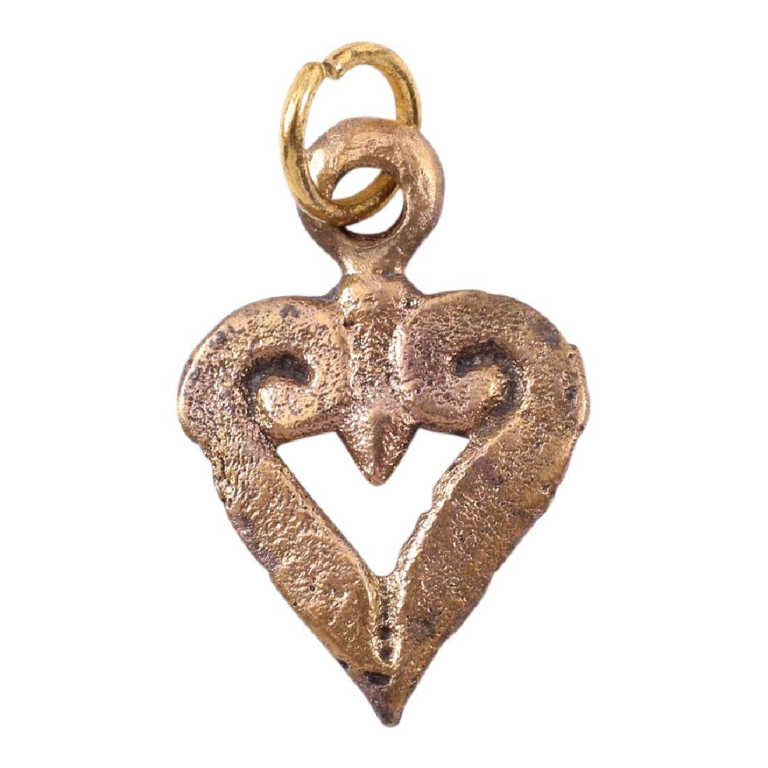 Viking Heart Pendant, 9th-10th Century
