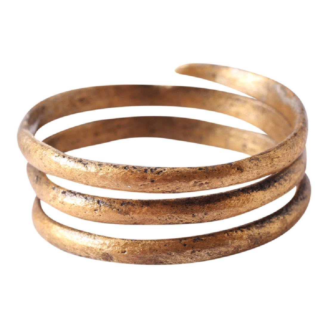 Viking Warrior's Coil Ring, 10th Century