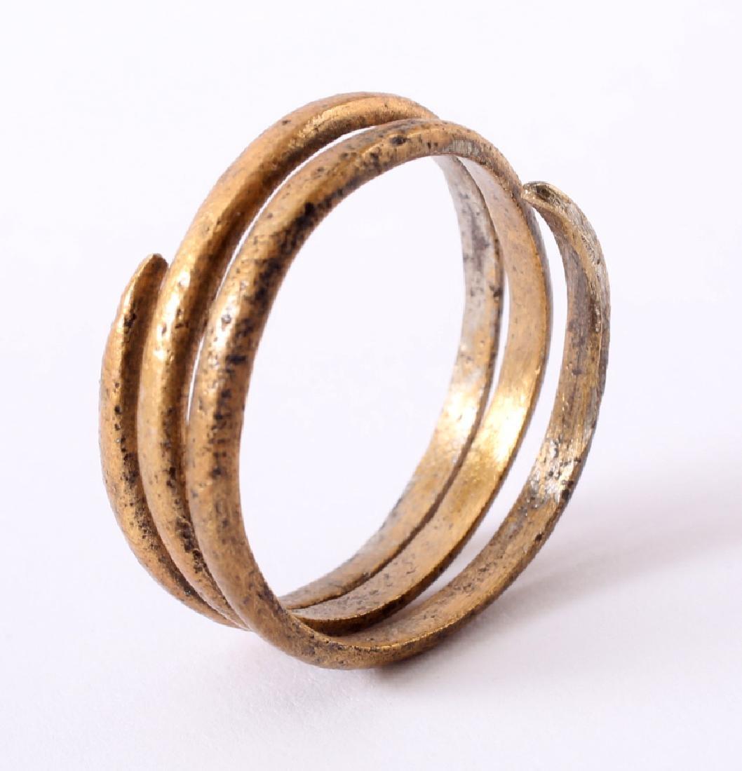 Viking Warrior's Coil Ring, 10th Century - 3