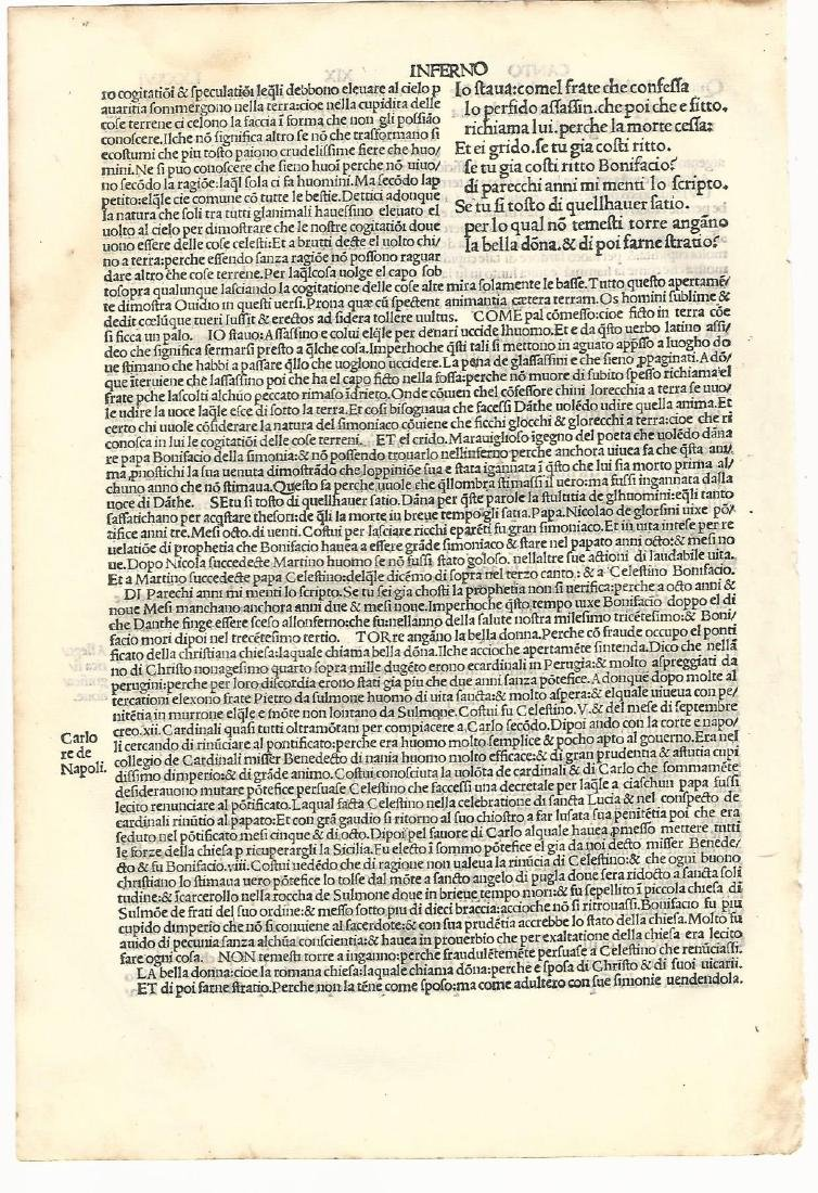 1507 Leaf from Dante Inferno - 2