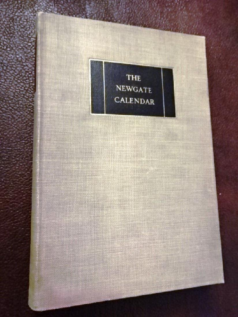 1926 The Newgate Calendar. Comprising Interesting - 3