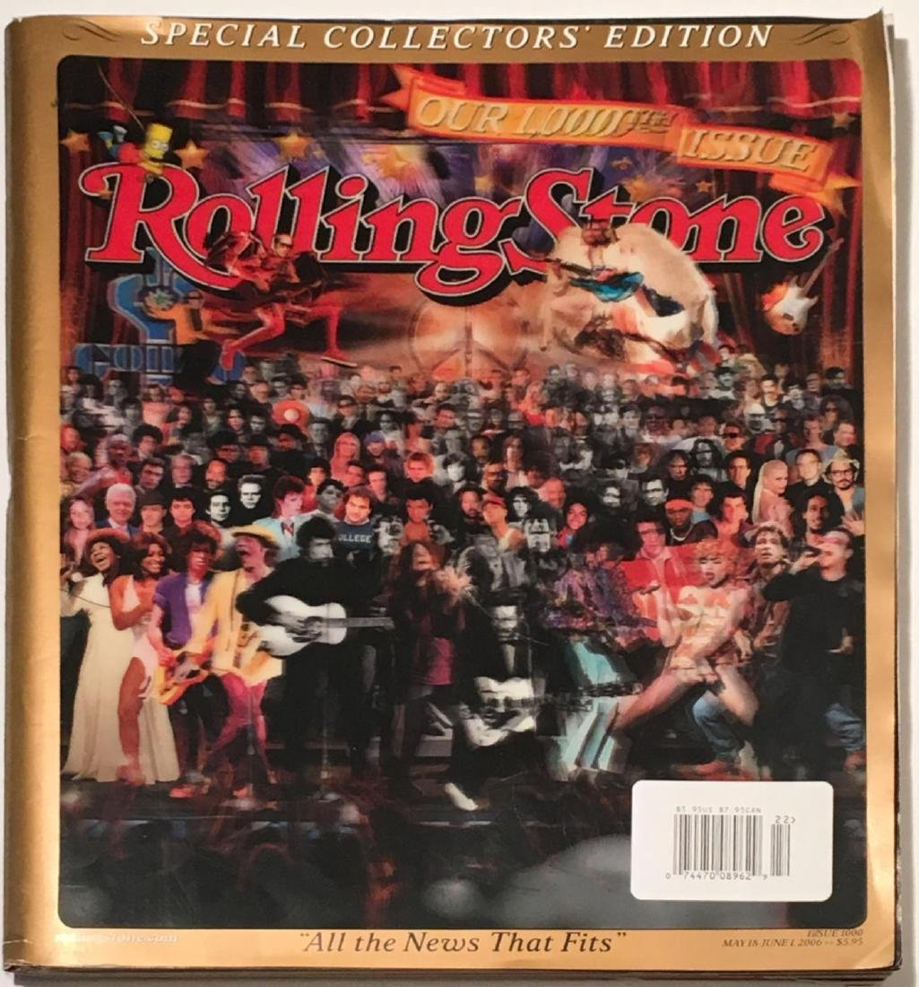 Rolling Stone 1000th Issue Special Collectors' Edition