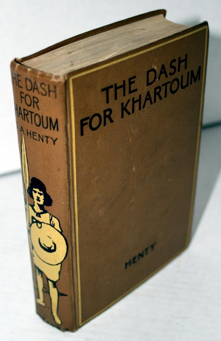 The Dash for Khartoum, G. A. Henty, 1892