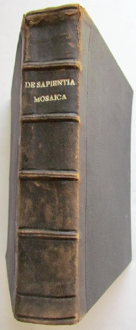 Sapientia Mosaica, 1742 - 2