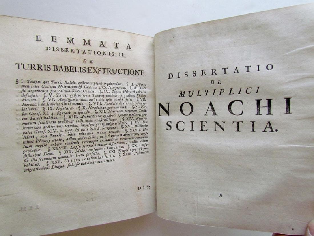 Sapientia Mosaica, 1742 - 6
