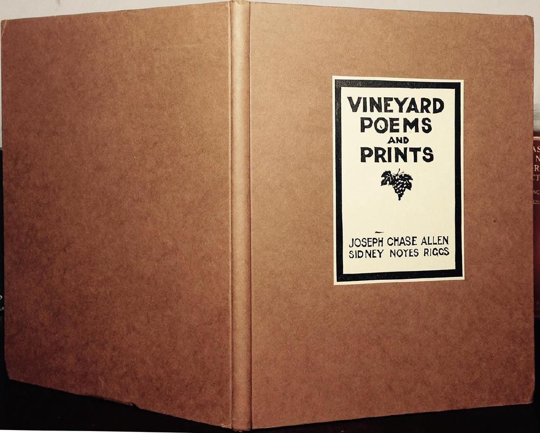 Vineyard Poems & Prints, Chase Allen, 1934