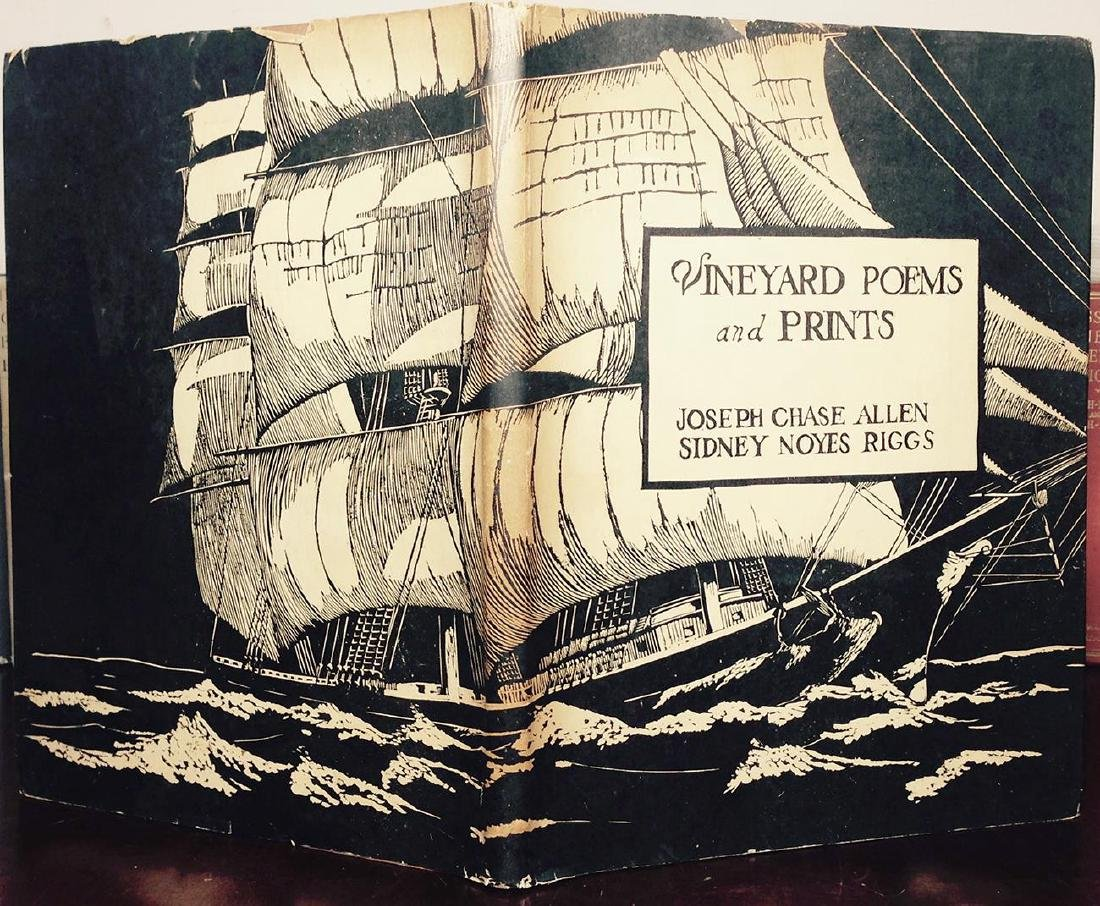 Vineyard Poems & Prints, Chase Allen, 1934 - 2
