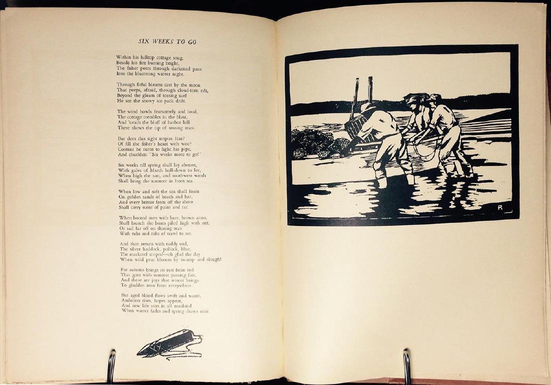 Vineyard Poems & Prints, Chase Allen, 1934 - 5
