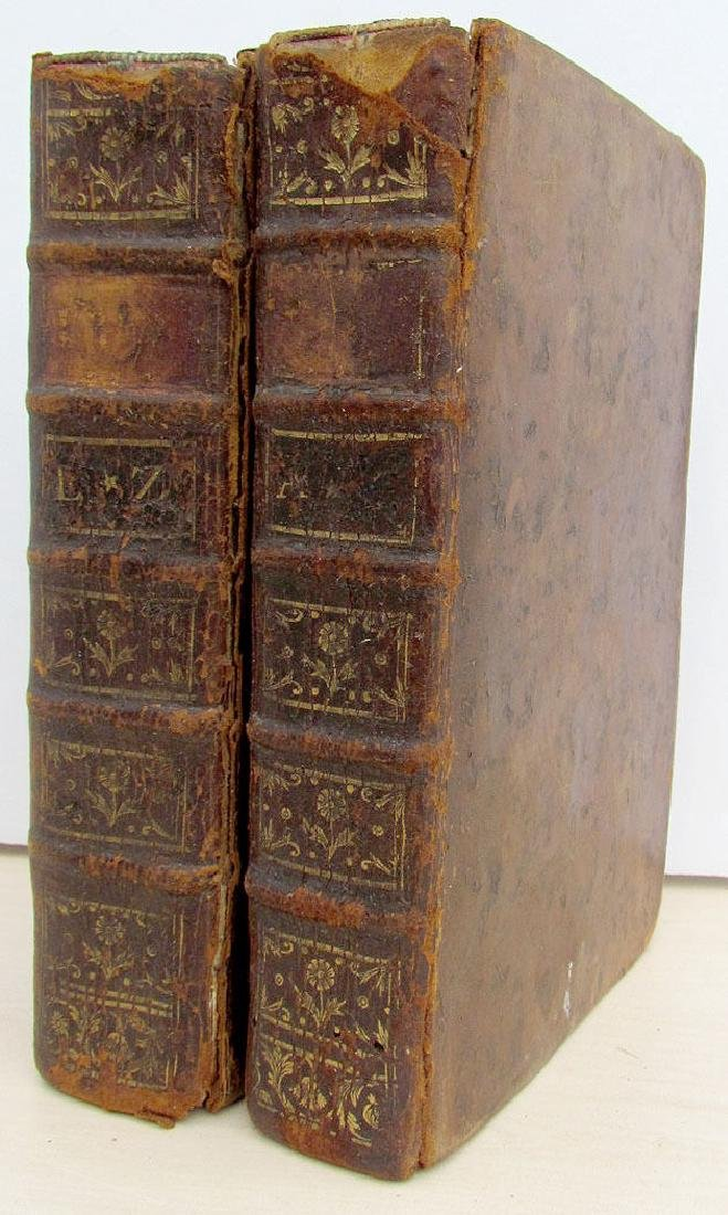 2 Volumes French Biographical Dictionary