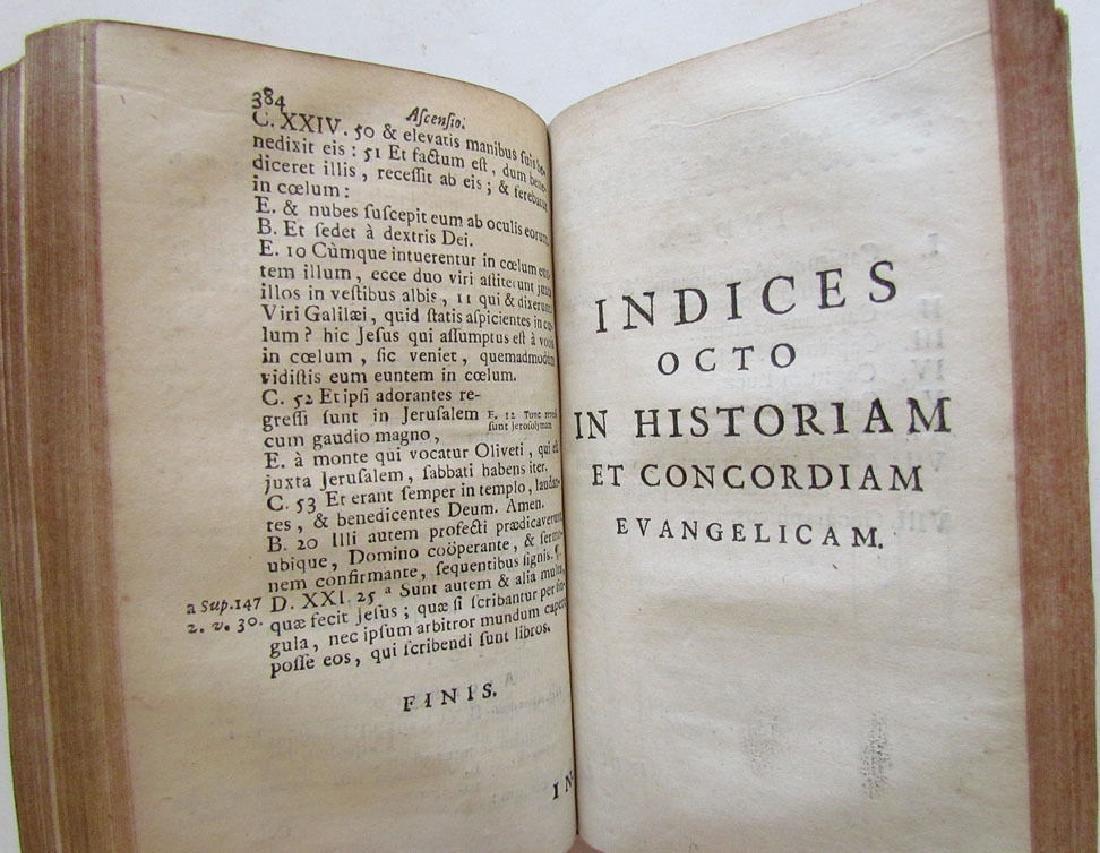 Historia et Concordia Evangelica, 1722 - 7