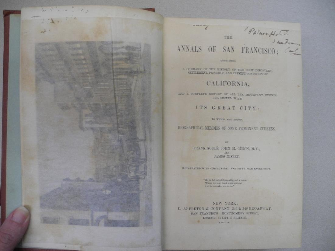 The Annals of San Francisco, Frank Soule - 4