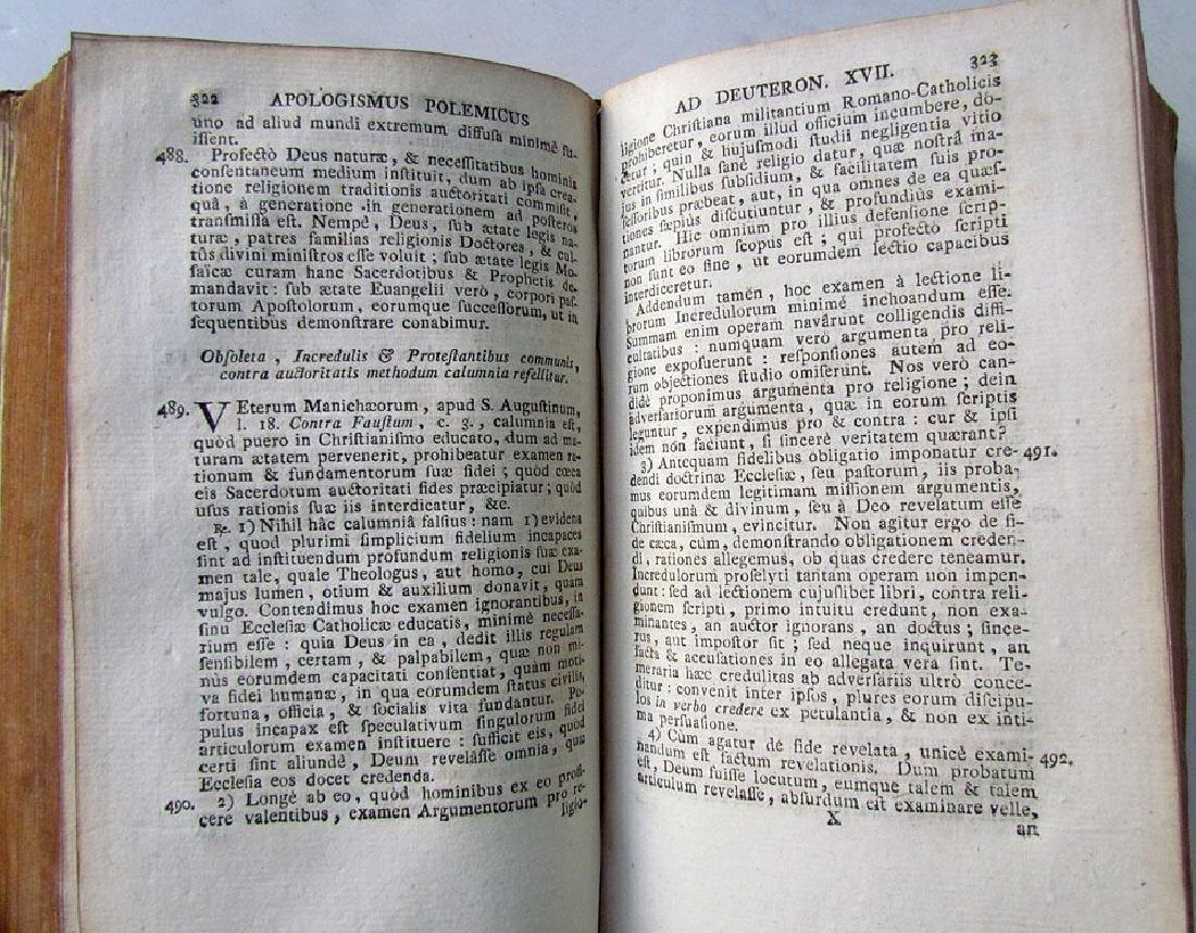 Apologismus Polemicus, 1782 - 4